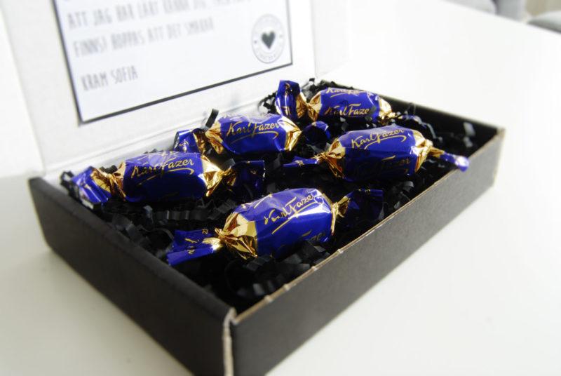 Skicka fazer choklad