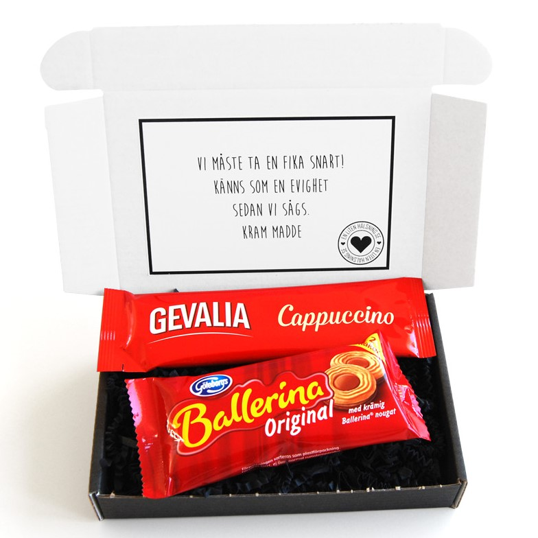 Skicka choklad